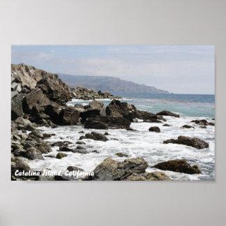 Isla de Catalina Póster