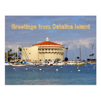 Isla de Catalina Tarjeta Postal