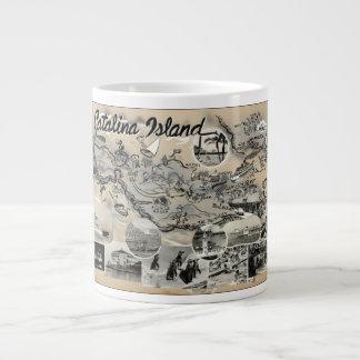 Isla de Catalina - vintage Taza Grande