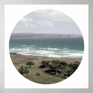 Isla de Chatham - Nueva Zelanda Póster