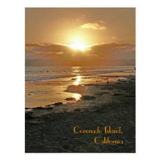 Isla de Coronado California Tarjeta Postal