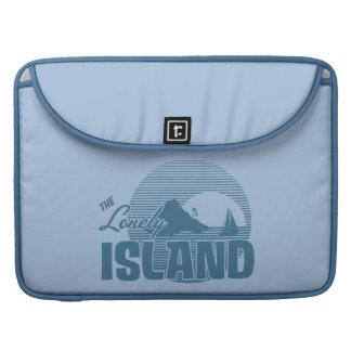 Isla de Dookie - azul Funda Para Macbooks