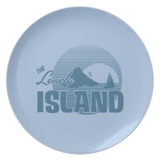 Isla de Dookie - azul Platos
