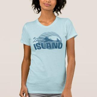 Isla de Dookie - azul Camisetas