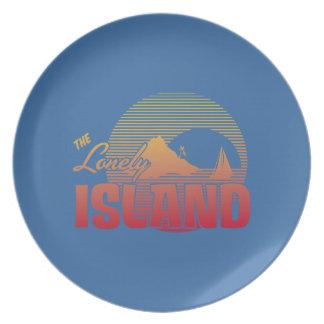 Isla de Dookie - color Plato De Cena