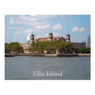 Isla de Ellis Tarjeta Postal