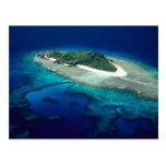 Isla de Eori, islas de Mamanuca, Fiji - antena Postales