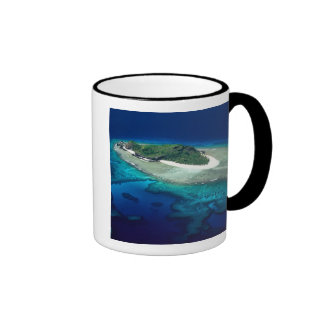 Isla de Eori, islas de Mamanuca, Fiji - antena Taza De Café