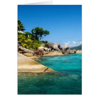 Isla de Felicite Tarjeton