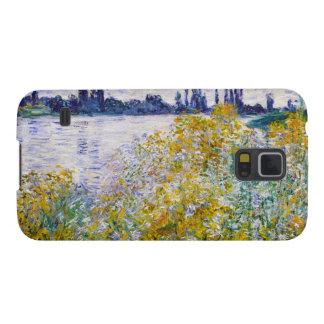 Isla de flores en el Sena cerca de Vetheuil Funda Para Galaxy S5