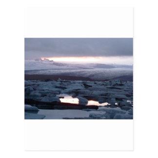 Isla de Gletscherlagune Postal