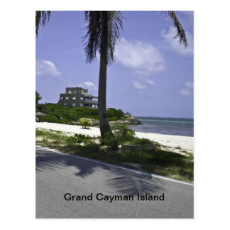 Isla de Gran Caimán Tarjeta Postal