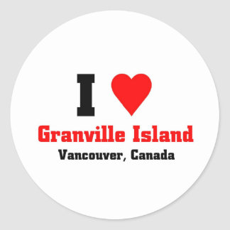 Isla de Granville Canadá Etiquetas