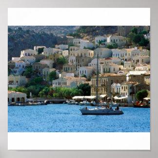 isla de Grecia Impresiones