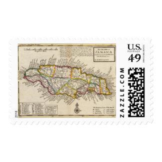 Isla de Jamaica Sello Postal