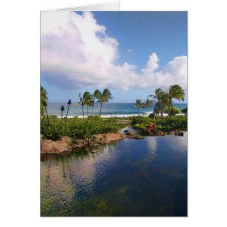Isla de Kauai Felicitaciones