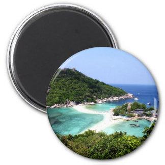 Isla de Ko Nang Yuan en Tailandia Imán Para Frigorifico
