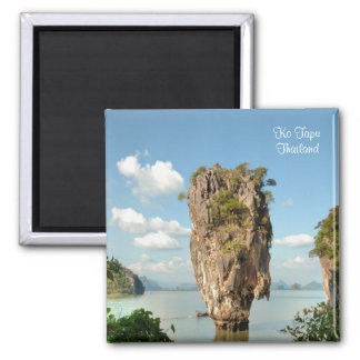 Isla de Ko Tapu en Tailandia Imán Cuadrado