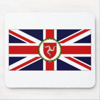 Isla de la bandera del asistente del gobernador de tapete de ratones