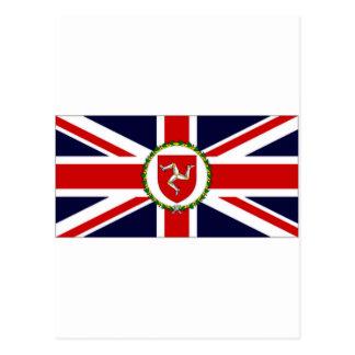 Isla de la bandera del asistente del gobernador de postales
