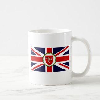 Isla de la bandera del asistente del gobernador de taza de café