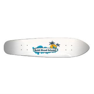 Isla de la cabeza calva skateboard