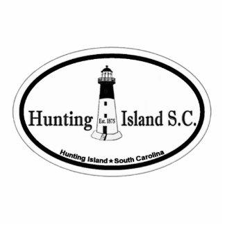 Isla de la caza escultura fotográfica