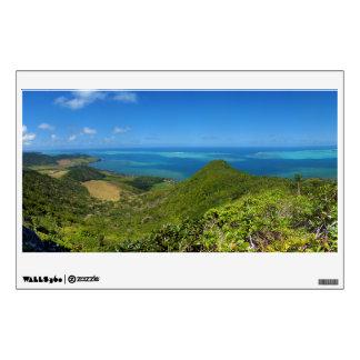 Isla de la costa este de Mauricio África