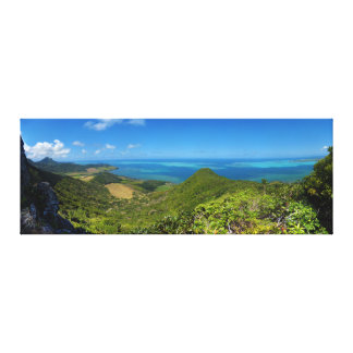 Isla de la costa este de Mauricio África Impresiones En Lienzo Estiradas
