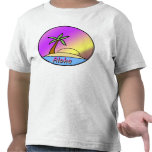 Isla de la hawaiana camiseta