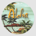 Isla de la hawaiana pegatina