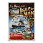 Isla de la impresión del hombre posters
