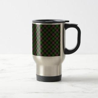 Isla de la impresión diseñada tartán de Skye Taza De Café