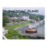ISLA DE LA ISLA MACKINAW DE MACKINAC POSTAL
