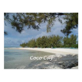 Isla de la isleta de los Cocos, Bahamas Postal