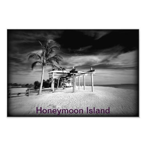 Isla de la luna de miel fotografía