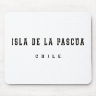 Isla De La Pascua Chile Mouse Pad