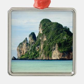 Isla de la phi de la phi de Ko en el mar de Ornamento Para Arbol De Navidad