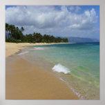 Isla de la playa poster