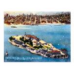 Isla de la prisión de Alcatraz, San Francisco Postales