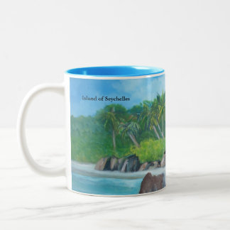 Isla de la taza de Seychelles