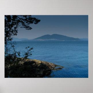 Isla de las orcas póster