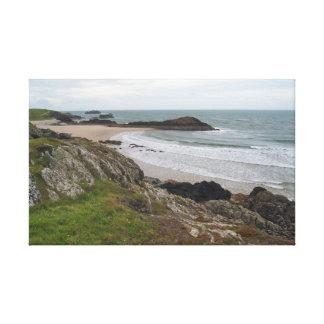Isla de Llanddwyn, Anglesey Impresiones En Lona