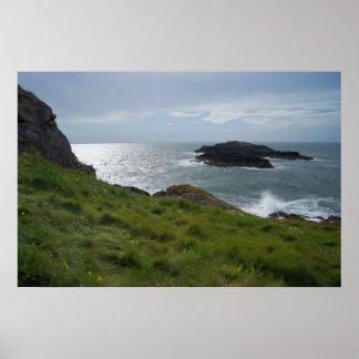 Isla de Llanddwyn, Anglesey Póster