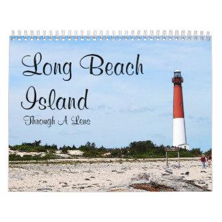 Isla de Long Beach Calendarios De Pared