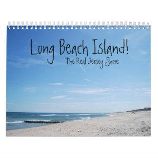 ¡Isla de Long Beach! Calendario De Pared