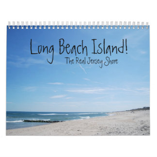 ¡Isla de Long Beach! Calendario De Pared
