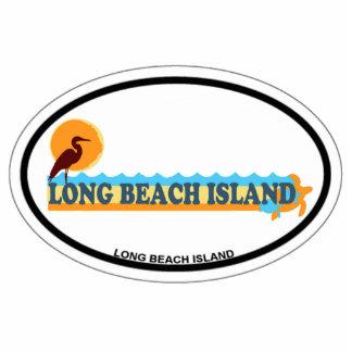 Isla de Long Beach Escultura Fotográfica