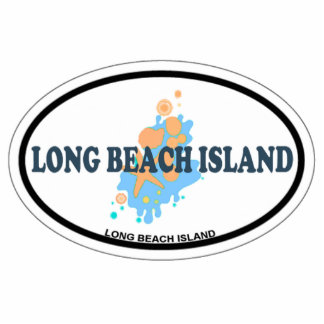 Isla de Long Beach Escultura Fotografica