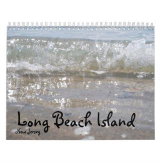Isla de Long Beach NJ Calendario